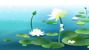 cartoon-lotus-picture,1366x768,56674