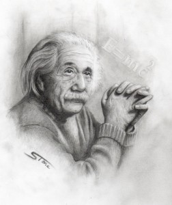 Albert_Einstein_Portrait_by_stonetat2
